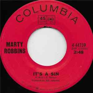 Marty Robbins - It's A Sin Album